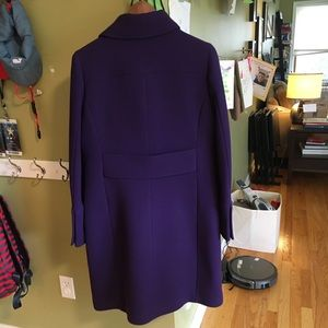 J. Crew Jackets & Coats - J.Crew Lady Day Coat in purple